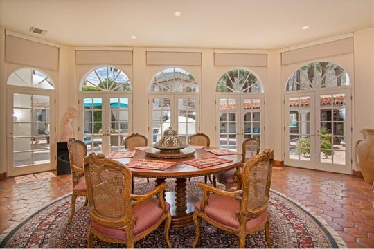 This seven-bedroom Old Las Palmas estate is on sale for $8.25 million. The seller, Jackie Autry, moved there with her husband, famed western films actor Gene Autry, in the late 1990s.
