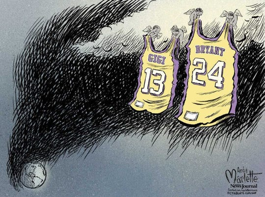 A tribute to Kobe Bryant and his daughter Gianna.