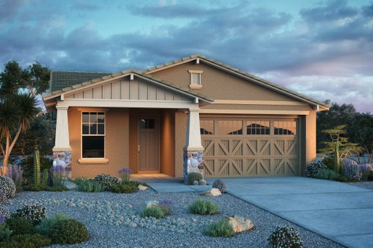 A new Taylor Morrison home in the Mesa community Encore at Eastmark.