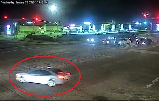 Glendale Police are asking for the public's help in identifying this vehicle and the suspect involved in a fatal shooting on January 29.