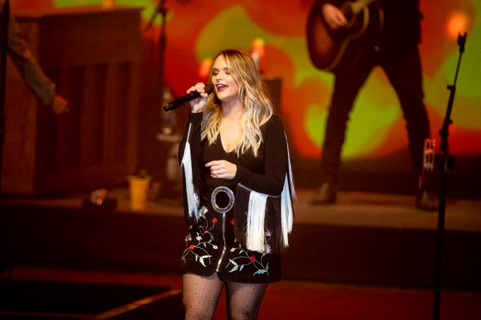 Miranda Lambert kicks off the concert series at Birds Nest on Jan. 29, 2020, in Scottsdale.