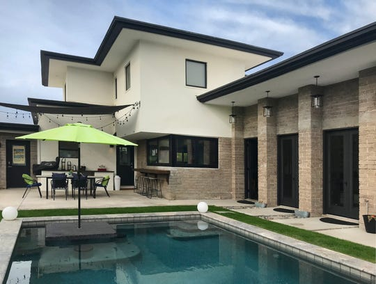Tour the backyard of the historic Montague Manor at Modern Phoenix Home Week.