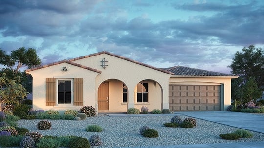 A new home in Taylor Morrison's Venture at Black Mountain community in Cave Creek. Prices start at almost $500,000.