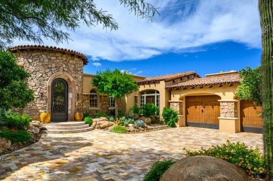 Frank and Suzanne Welton paid $2.43 million for an estate in Scottsdale's Desert Mountain community.