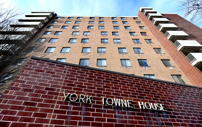The York Towne House apartments in York City Thursday, January 30, 2020, has been purchased by York Towne Preservation LLC., a company that has attempted to remain anonymous since the nearly $19.1 million purchase. Bill Kalina photo
