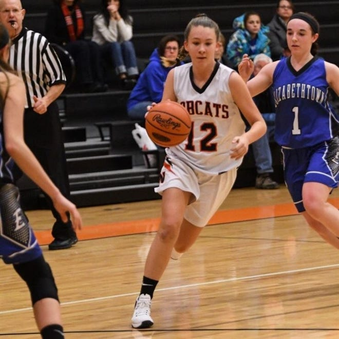 Northeastern's Jordyn Jennings considers soccer her primary sport. Still, she's the top girls' basketball scorer in the York-Adams League at 17.0 points per game. PHOTO COURTESY OF JORDYN JENNINGS' HUDL PAGE.