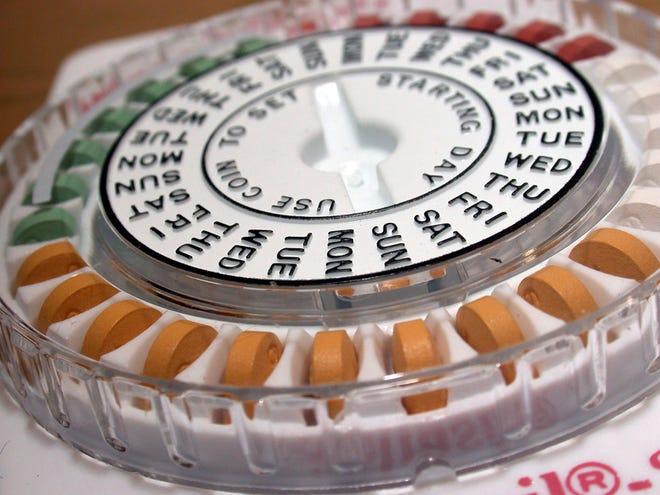 Birth control pills, as seen in October 2017. (Richard B. Levine/Sipa USA/TNS)