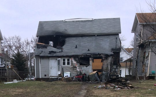 Fire damaged a duplex and neighboring residence Wednesday, Jan. 29, 2020, in the 200 block of Richmond Avenue.