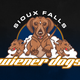 Sioux Falls Fighting Wiener Dogs logo