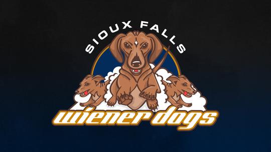 Sioux Falls Fighting Wiener Dogs logo