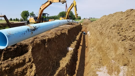 Dell Rapids-based Carstensen Construction has completed seven projects for the Lewis and Clark Regional Water System that covers 5,000 square miles and services 20 member cities.