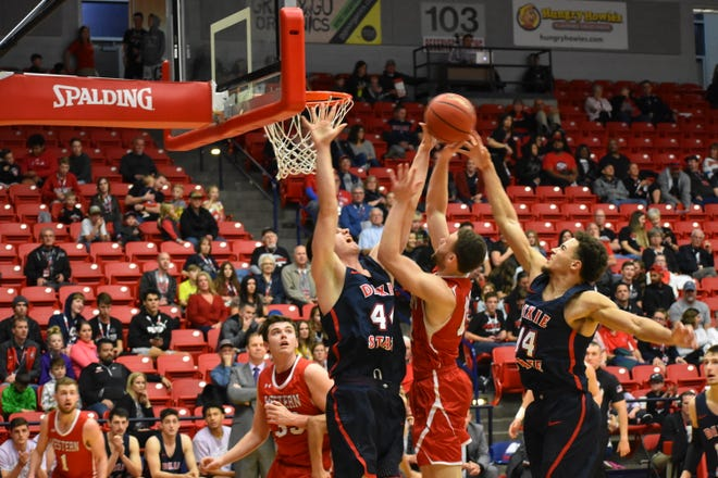 Dixie State men's basketball beat Western Colorado 87-57 on Saturday, January 25.