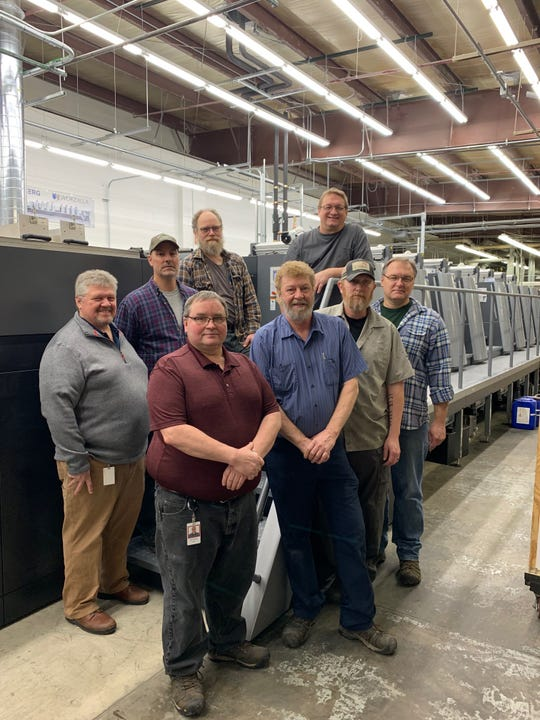 Worzalla associates with a new printing press