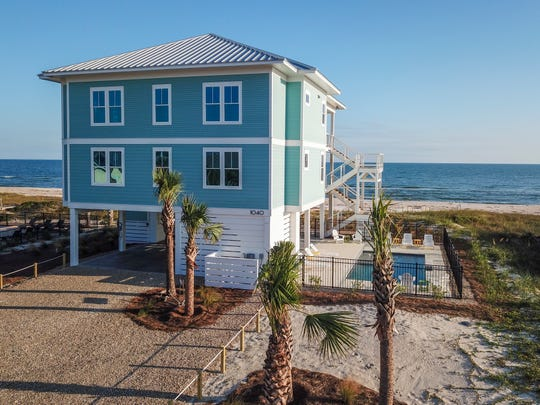PawPaws Sandbox is one the homes on the St. George Island Tour of Homes set for Feb. 8 2020.
