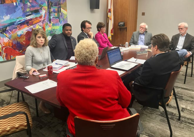 The city's Independent Ethics Board met Thursday, Jan. 30, 2020, to discuss next steps after its incoming ethics officer bowed out over controversial tweets. The board voted to offer the job to another candidate, Dwight Floyd, a former FDLE bureau chief.