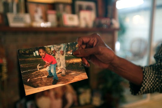 Cathy Wright, who is the grandmother of Trent Lee, a 19-year-old who was shot and killed leaving the North Florida Fair in November 2019, shares a photograph that she believe depicts the type of man her grandson was. Lee enjoyed working with his hands and helping others.