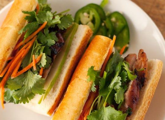 Pho Deli serves bánh mì sandwiches.