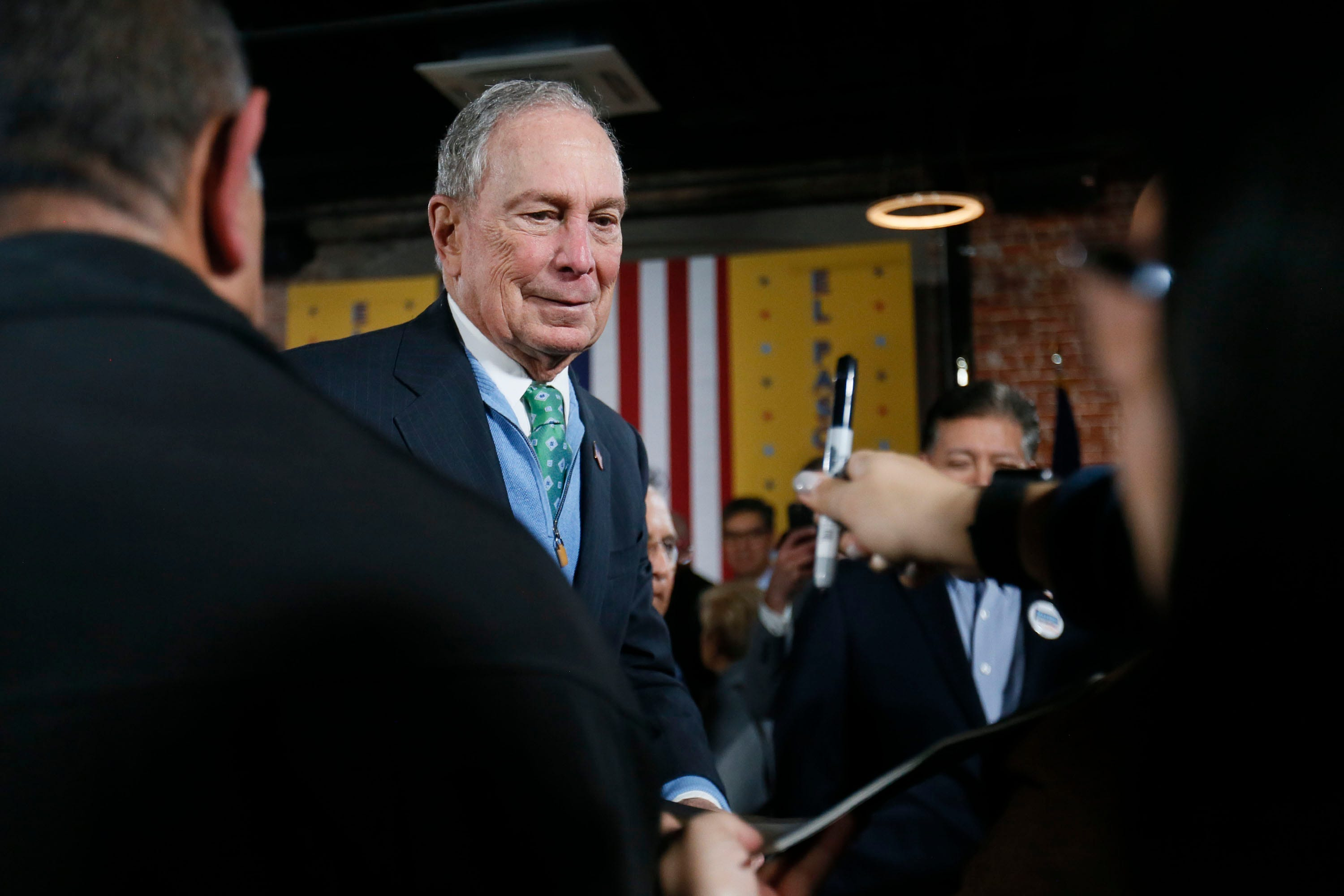 List of Michael Bloomberg 2020 presidential campaign endorsements