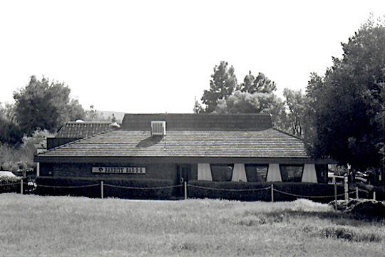 The original Bandits' barbecue restaurant in Thousand Oaks is seen in this undated photo. The image was taken from the vacant lot where the restaurant currently stands at 589 N. Moorpark Road.