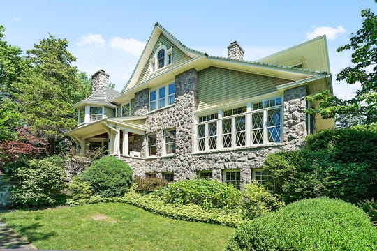 """This Pelham home, now on the market, played host to President Dwight Eisenhower. Neighbors remember seeing """"Ike"""" walking his dog in the neighborhood."""