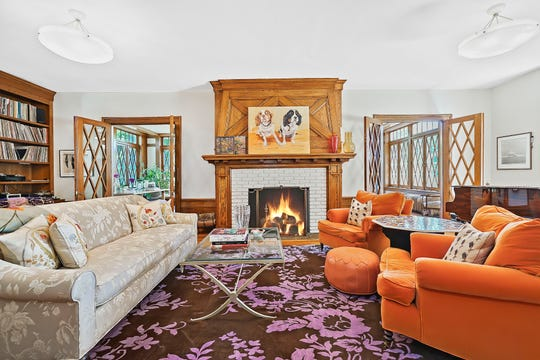 This Pelham home,now on the market, played host to President Dwight Eisenhower; an earlier structure on the same property was visited by George Washington.