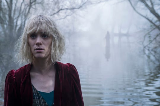 """Mackenzie Davis plays a governess hired to take care of a young girl and finding weirdness all around her in """"The Turning."""""""