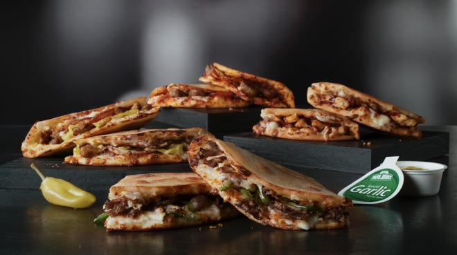 Papa John's introduces Papadias, a new flatbread-style sandwich  for its lunch menu.