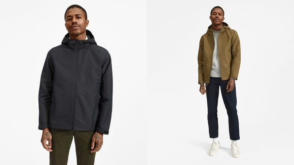 Minimalistic style for all weather.