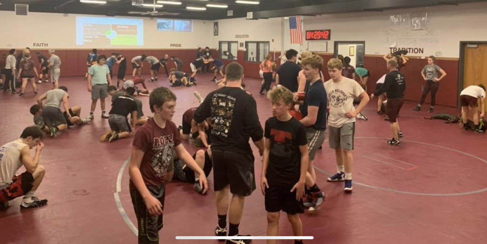 How High School Wrestling Team Dramatically Increased Participation