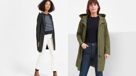 Keep dry—but make it fashion.