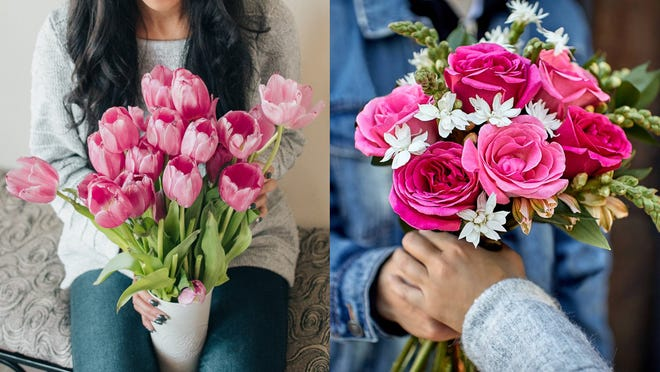 These popular flower delivery services will deliver by Valentine's Day.