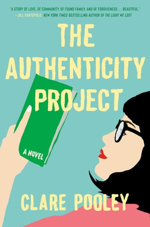 """""""The Authenticity Project,"""" by Clare Pooley."""