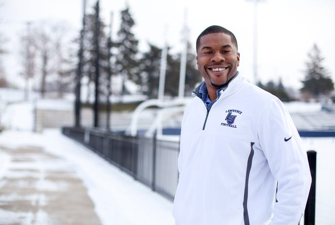 New Lawrence football coach Tony Aker is hoping to re-establish the program's footprint in the Fox Valley and Wisconsin.