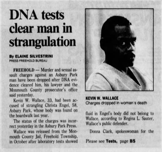 DNA evidence has helped close a decades-old murder in Asbury Park. Image courtesy Asbury Park Press archives.