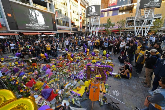 Fans this week gathered at Staples Center to remember the late Kobe Bryant, a 20-year star for the Los Angeles Lakers.