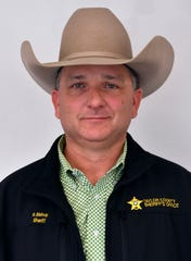 Taylor County Sheriff Ricky Bishop.