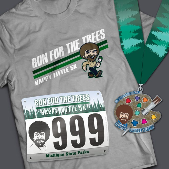 The Run for the Trees Happy Little 5K is a virtual race held April 17-26 to benefit tree-planting efforts at state parks throughout Michigan.