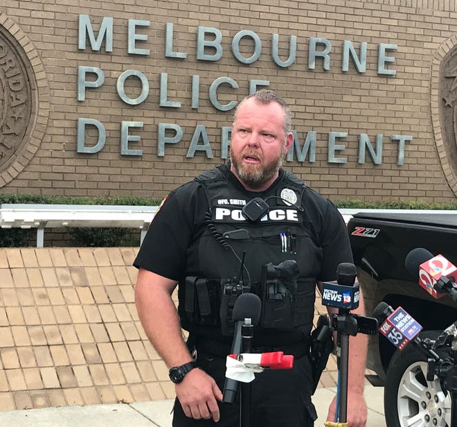 Melbourne Officer Robert Smith