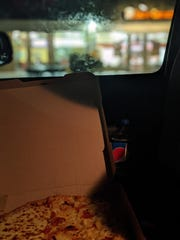 Redditor r/murrly posted this photo of a Little Caesars Pizza order placed in Wisconsin by r/JKTrace that ended up at a location in Essex, Vermont.