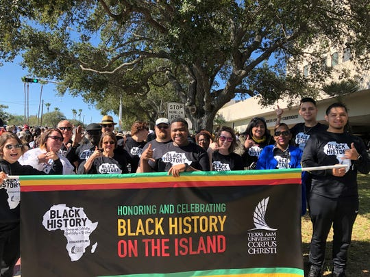 Texas A&M University-Corpus Christi students celebrate black history with the hashtag #365OnTheIsland — meaning all year.