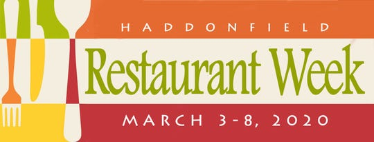 Haddonfield Restaurant Week will be held March 3 to 8 throughout the borough.