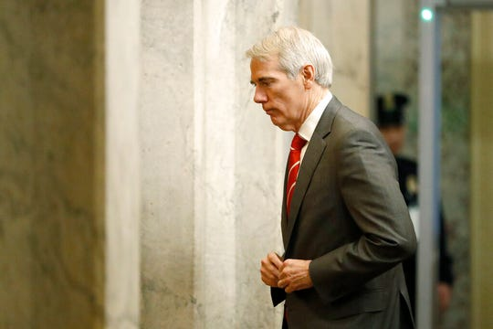 Ohio Sen. Sen. Rob Portman, R-Terrace Park, said Friday he will vote against allowing additional witnesses in the Senate impeachment trial of President Donald Trump.
