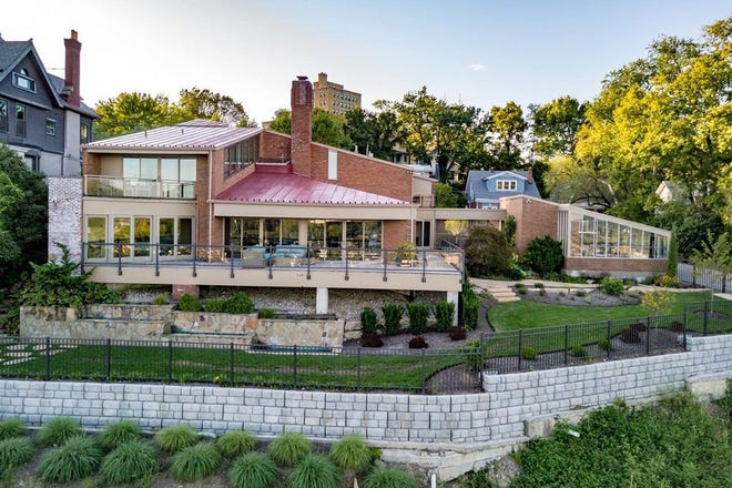 This midcentury modern house at 1737 East McMillian St. in East Walnut Hills was recently listed for $1,579,000