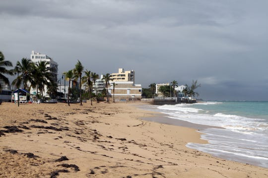 On Jan. 8, 2020, much of the island of Puerto Rico was still without power after a series of earthquakes.