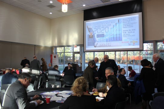 New research from New American Economy (NAE) that highlights the economic impact that immigrants have in Middlesex County on their community was discussed at  the Middlesex County Regional Chamber of Commerce's Economic Outlook 2020 event at Rutgers Visitors Center on Jan. 30.