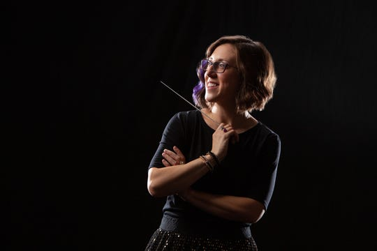 Valley High School graduate Elizabeth Bennett was nominated for a Grammy Award by a former student. She is coming to Des Moines as a guest conductor Feb. 27.