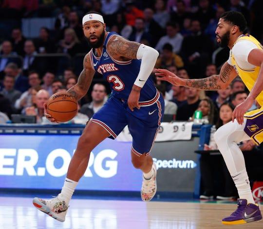 Marcus Morris, forward, New York Knicks. Age: 30. Salary: $15 million.
