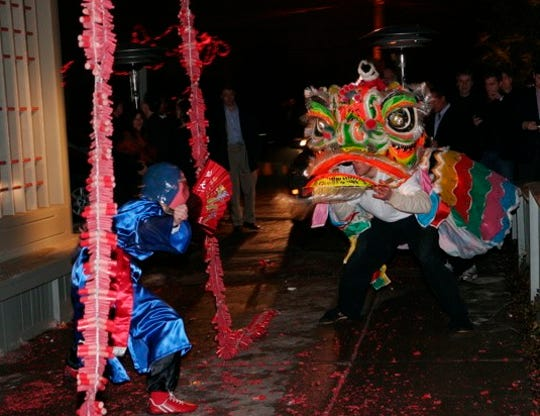 Mon Jin Lau will have a traditional lion dance for Chinese New Year.
