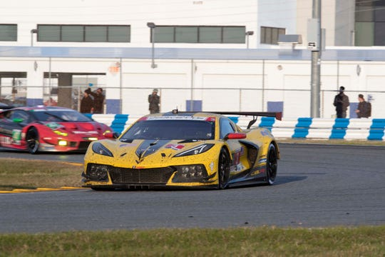 The Corvette C8.R #3 driven by Antonio Garcia, Jordan Taylor and Nicky Catsburg finished fourth at the Rolex 24 Hours of Daytona.