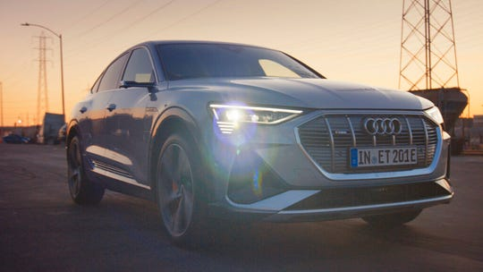 This undated image provided by Audi shows a scene from the company's 2020 Super Bowl NFL football spot.